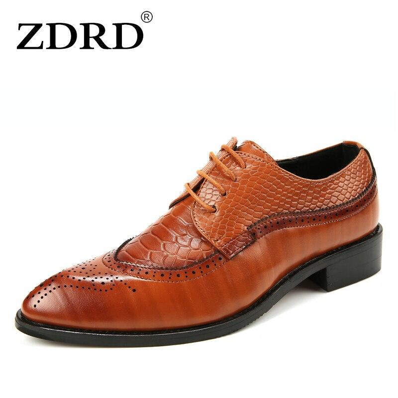 Couro Vestido Preto Medusa Sapatas Zdrd Moda Homens Sapatos Para Marca Formal Crocodilo Oxford vermelho Dos Qualidade amarelo 2018 Alta De Estilo wqFxzP0Uq