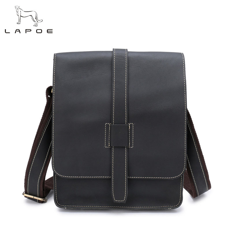 New Arrival Genuine Leather Handbag Men Messenger Bags Promotional Small Crossbody Shoulder Bag Casual Man Bag meigardass new style male genuine leather handbag man bag crossbody shoulder bag small casual messenger bags for men cowhide