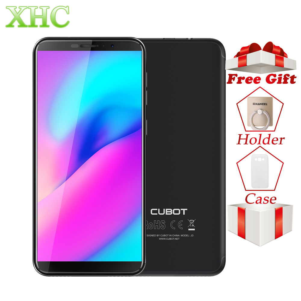 Original CUBOT J3 Face ID 5 0 inch Android GO Mobile Phones RAM 1GB ROM 16GB