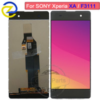 5.0'' Touch Screen For SONY Xperia XA Lcd Display With Frame F3111 F3112 F3116 F3115 LCD For SONY Xperia XA LCD Replacement