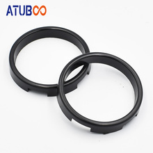 2pcs/Lot Projector Lens Adapter Ring Automobile Lamp Parking Car Styling DIY Headlight 2.5 inch to 3.0 inch Shroud Black Color 2pcs set 15 6 inch professional projector fresnel lens module with hd fine groove pitch diy projector fresnel lens