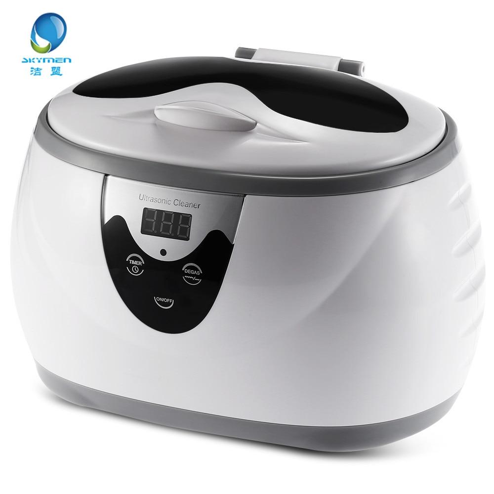 0.6L 35W 40kHz Digital Ultrasonic Cleaner Wash Bath Tank Baskets Jewelry Watches Dental Ultrasound Mini UltraSonic Cleaner Bath цена