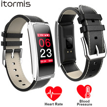 ITORMIS Smart Bracelet Color Screen Wristband Heart Rate Monitor Blood Pressure Meassure Pedometer Band for IOS