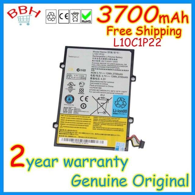 Новые подлинная L10C1P22 аккумулятор для Lenovo Idepad A1 A1-07 планшет H11GT101A 121500028 3.7 В 3700 мАч оригинальные аккумулятор