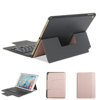 Ultra Thin Removable Bluetooth Keyboard Kickstand Case For IPad Air Air 2 IPad Pro 9 7