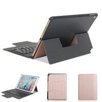 Ultra Thin Removable Bluetooth Keyboard Kickstand Case For IPad Air Air 2 IPad Pro 9 7