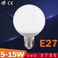 Ampoule LED Globe Bulb E27 5W 7W 9W 12W Led Chip 110V 220V Lamp SMD 5730 Led Energy Saving Brightness Spotlight Lighting lampen