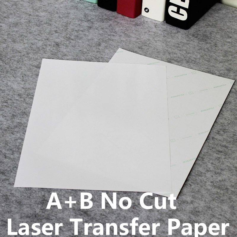 A+B Dark Cotton T Shirts Dark Heat Tranfer Paper No Cut A4 Laser Transfer Paper For Uncoated Products  NO.ot19