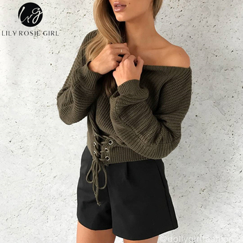 Lily-Rosie-Lace-Up-Knitted-Sweater-2
