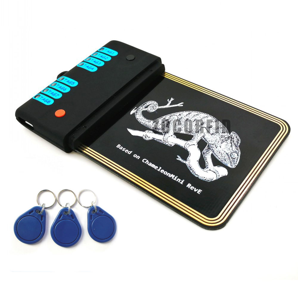 Updated Version Chameleon Mini RDV2.0 13.56MHZ ISO14443A NFC RFID Reader Writer For Rfid Nfc Card Copier Clone Crack