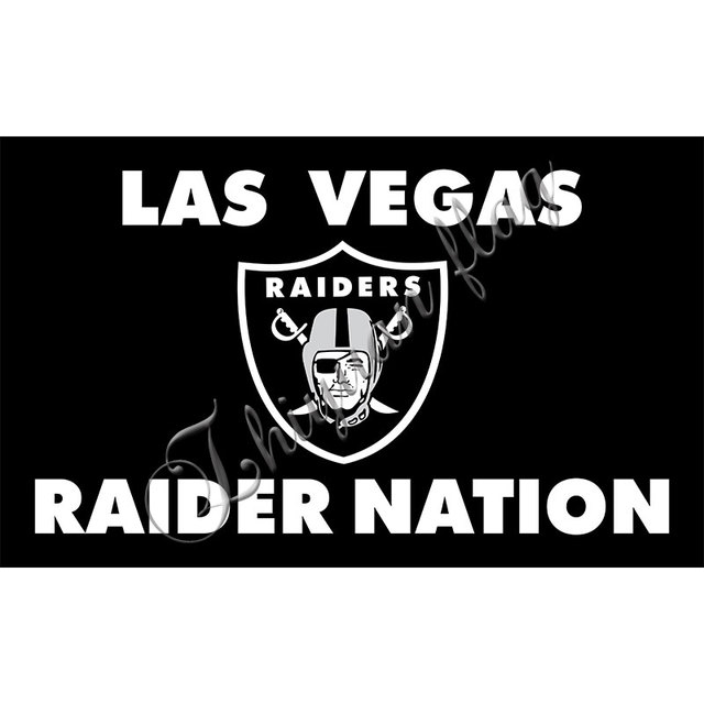 Las Vegas Raiders Los Angeles Raider Nation Team Banner Digital Print Custom Black Oakland Raiders Flag Raiders Flag Oakland Raiders Flagraider Nation Aliexpress
