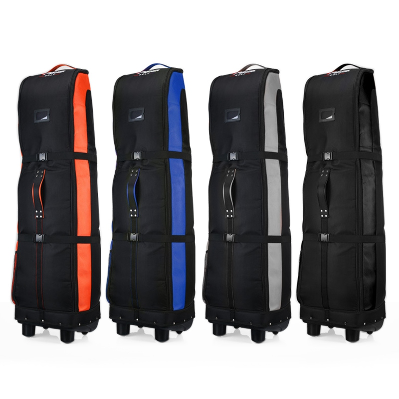 Lightweight Foldable Golf Bag Travel Cover with Wheels Large Capacity Golf Bag Practical Airplane Travel Bags D0065