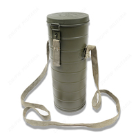 WW2 CHINA ARMY KMT ANTI GAS MASK CAN GAS MASK BOX HIGH QUALITY REPLICA