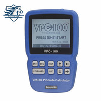 Hot Sale VPC 100 Hand Held Vehicle Pin Code Calculator vpc 100 For almost all cars With 500 Tokens Update Online vpc100