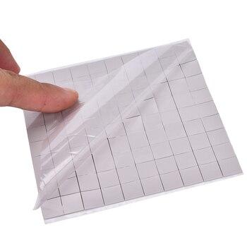 new gpu cpu heatsink cooling conductive silicone pad ic heat dissipation 100mm 100mm 1mm thermal pad high quality Durable Silicone Thermal Pad GPU CPU Heatsink Cooling Conductive Silicone Pad 100*100*1mm