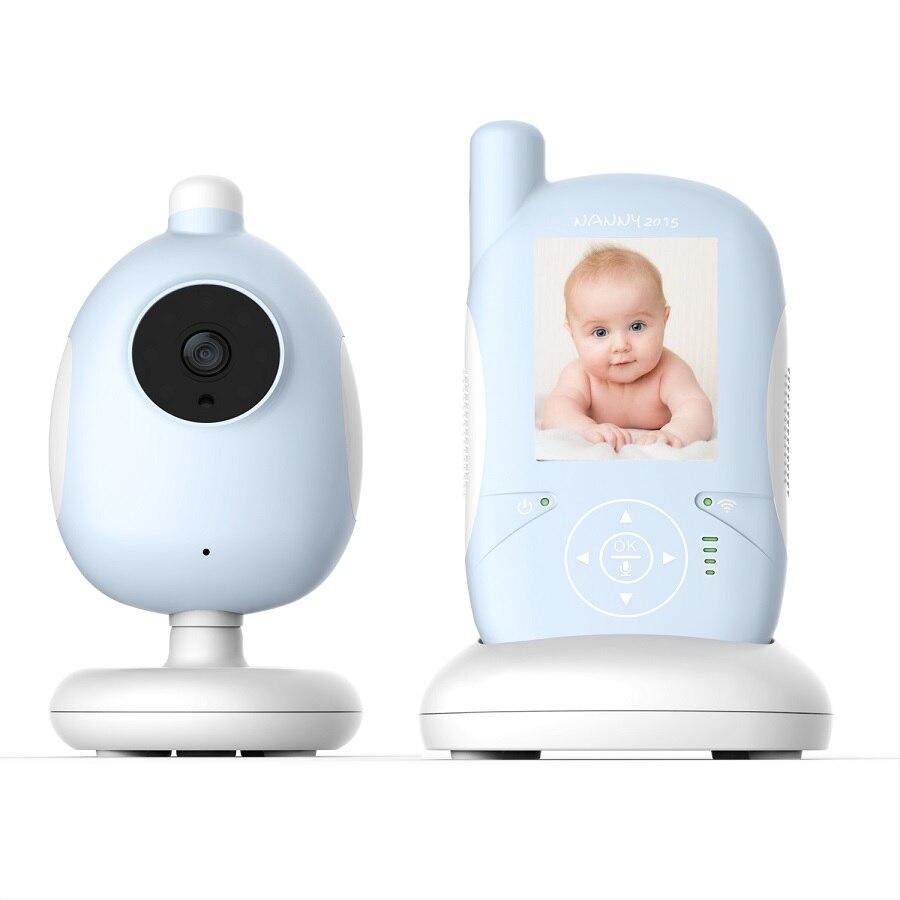 2.4 inch video nanny baby monitors 2016 IR Night vision Lullabies Temperature Monitor 2 way talk baby monitor radio babysitter