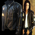 Rare MJ Michael Jackson Real Inglaterra Insignia Elizabeth Memoria Informales Para Mostrar El Rendimiento Punk Imitación Chaqueta Militar del REINO UNIDO