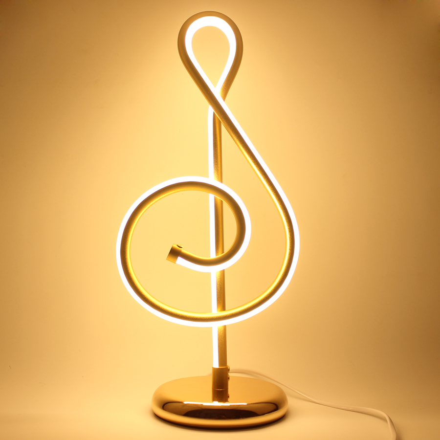 Buy European Decor Table Lamp Musical Notes Table Light Bedside Bedroom Living Room Table Lamp Home Decoration for $61.85 in AliExpress store