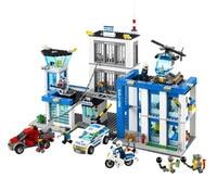 BELA City Police Station Building Blocks Classic For Girl Boy Kids Model Toys Minifigures Marvel Compatible