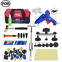 PDR Dent Puller Suction Cup Glue Tabs Paintless Dent Repair Tools Auto Dent Removal Tool Kit Fot Car with Tool Bag Slide Hammer