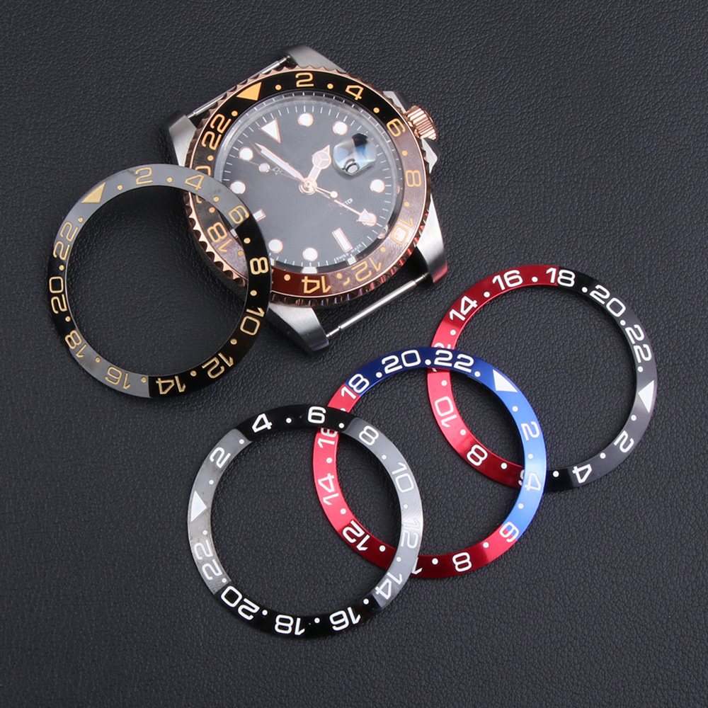 30.6-38mm Ceramic Bezel Insert For 40mm Dial for Sub mariner Gmt Oyster Watch Face Watches Replaceme