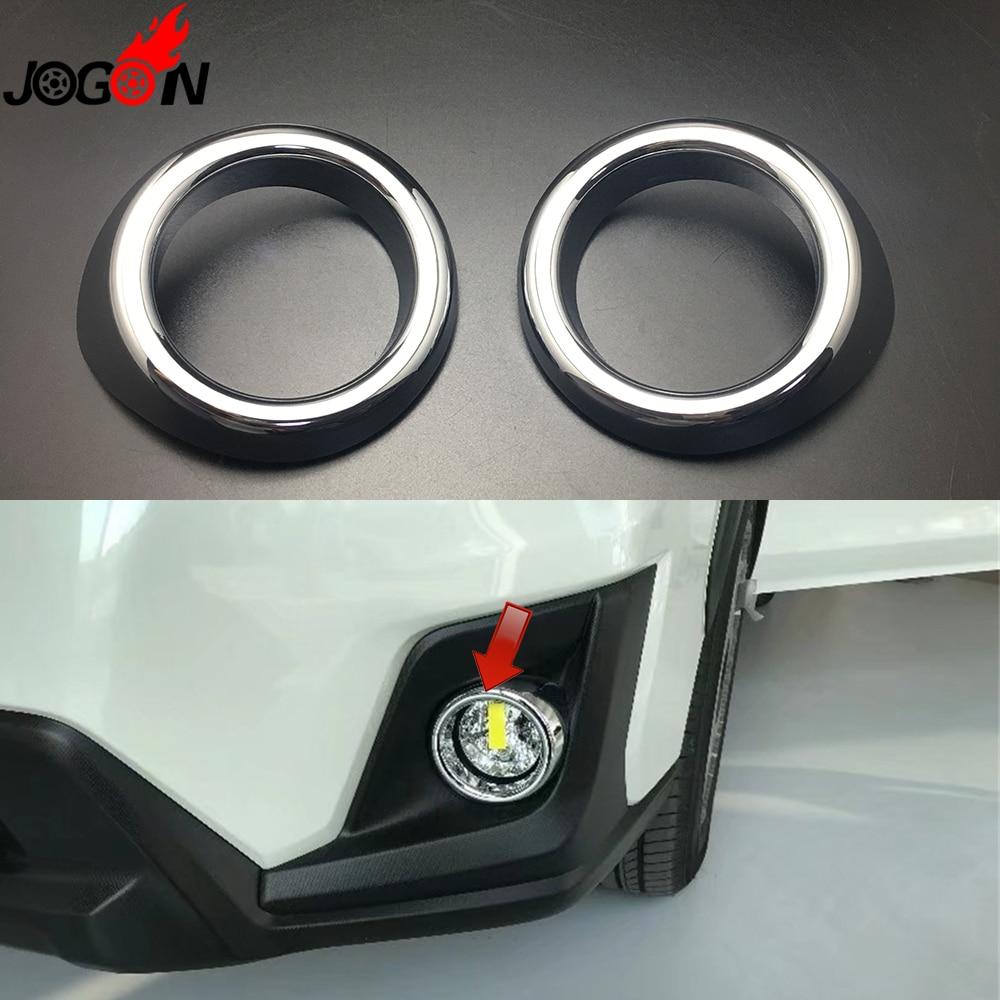 For Hyundai Kona 2018 2019 Chrome Front Fog Light Foglight: Aliexpress.com : Buy 2pcs/set For Subaru XV 2018 2019