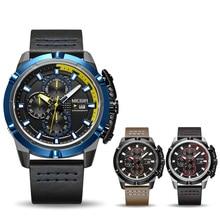 MEGIR Men Quartz Sport Watch Relogio Masculino Chronograph Military Army Watches Clock Men Top Brand Luxury Creative Watch Men
