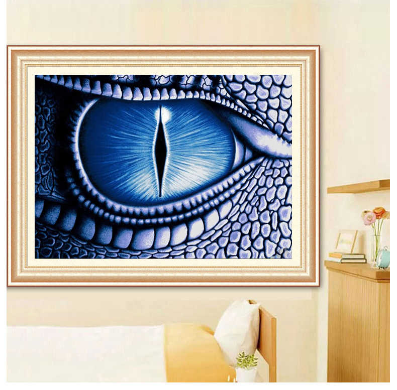 Dragon Eye Diamond Painting House Decoration Embroidery Patterns Mosaic Displays