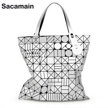 Bolso geométrico Japón diseñador bolso bolsa mujer cuadrado hombro bolsas de marca de lujo bolsos mujeres Sac obag señoras bolso