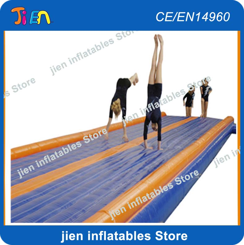 free air shipping to door,8x3m air track mat/inflatable air track for gym/tumble track