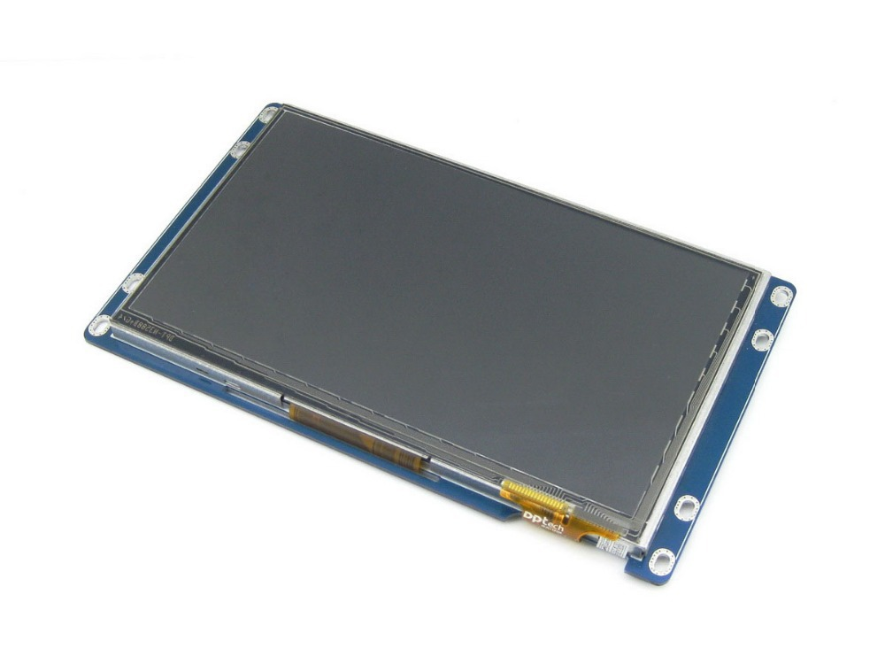 7inch Capacitive Touch LCD 800*480 Multicolor Graphic LCD TFT TTL Screen Display Module with Stand-alone Touch Controller module waveshare 7inch 1024 600 tft capacitive display multicolor graphic lcd with capacitive touch screen stand alone touch con
