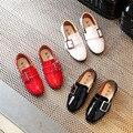 2017 весна новая Мода детская shoes chaussure Лян Pi школы мальчиков мокасины девушки shoes Корейской версии Британского стиль