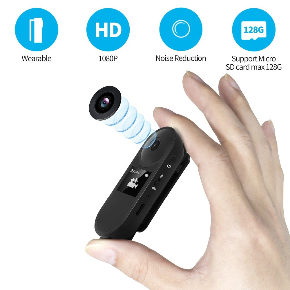 008 Mini Camera Magnetic Camcorder Recording Pen 1080P Full HD DVR Voice Video Recorder Camera Small Display Support TF Card