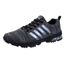 Men sport shoes 2018 sneakers air sole Breathable Mesh outdoor Training Walking Fitness Jogging Footwear sports men running shoe