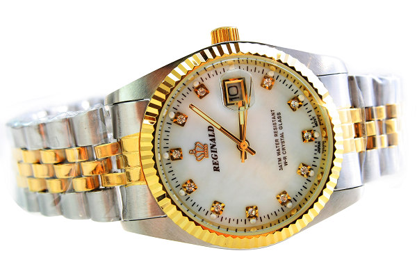 New Mens Top Brand Luxury Hk Crown Dive 30M Quartz Watch Men Business full Stainless Steel