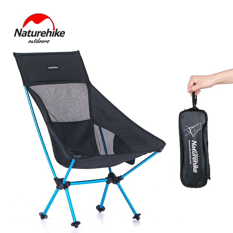 Naturehike Ultralight Durable Folding Fishing Chair Seat for Outdoor Camping Leisure Picnic Lengthen Beach Chair outlife ultra light folding fishing chair seat for outdoor camping leisure picnic beach chair other fishing tools z40