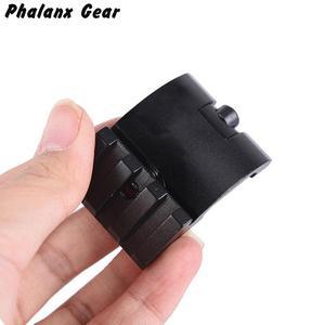 Image 5 - Ultra Low Profile Offset Picatinny Rail Mount 45 Graden 3 Slot 20mm Adapter Weaver AR 15 Scope Red Dot vergrootglas Zaklampen