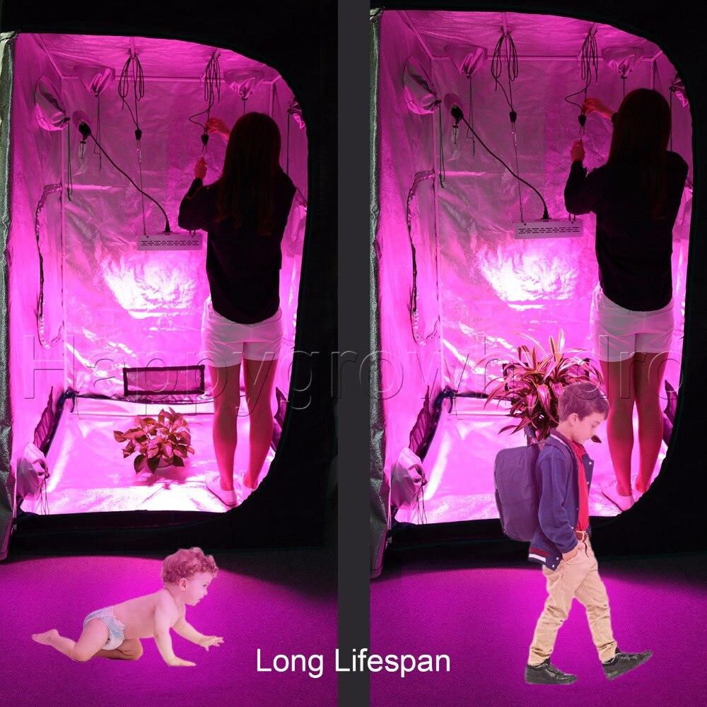 2pcs Marshydro 300w 600w Full Spectrum Led Grow Lights Hydroponics