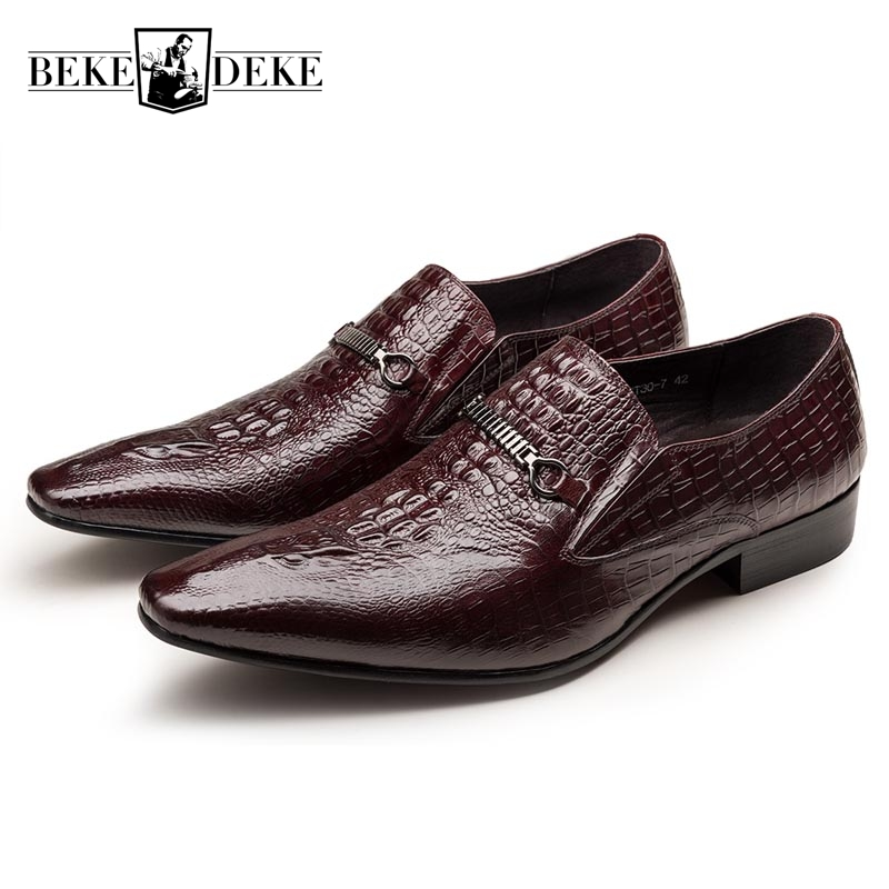Breathable Formal Shoes Men Dress Shoes Slip On Pointed Toe Work Shoes Business Shoes Male Fashion Footwear Big Size 37-44 цена 2017