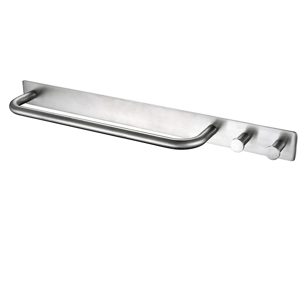 compare prices on modern towel bars online shoppingbuy low price  - auswind stainless steel polished or brushed towel holder with  hooks modernbathroom self adhesive towel