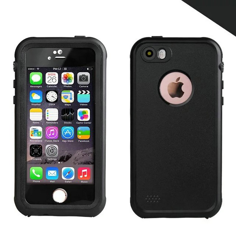 underwater iphone 5 case ip68 waterproof for iphone 5 5s se redpepper shock 8385