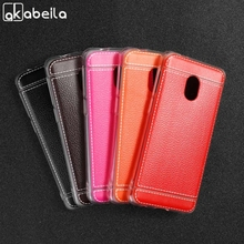 Soft TPU Leather Case For Alcatel 1C 2019 Cases 5003D Anti-Knock Protective Housing Back Shell Bumper Bags