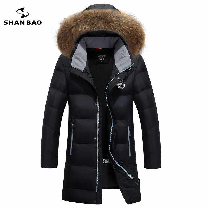 Новинка 2019 года, зимняя стильная теплая мужская куртка с капюшоном на молнии, парка с карманами, пуховое пальто, M-6XL