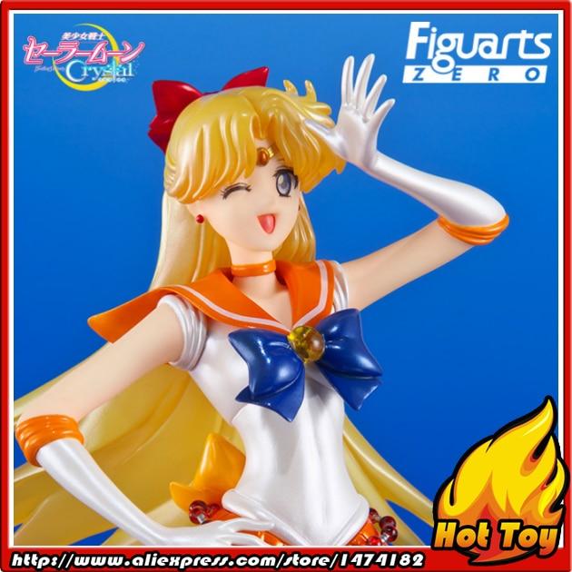 Original Bandai Tamashii Nations Figuarts Zero Chouette Pretty Guardian Sailor Crystal Action Figure - Sailor Venus jonathan