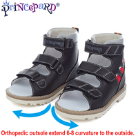 Princepard 2019 summer sandals orthopedic for kids Equipped with professional orthopedic insoles boys sandals sumeer shoes