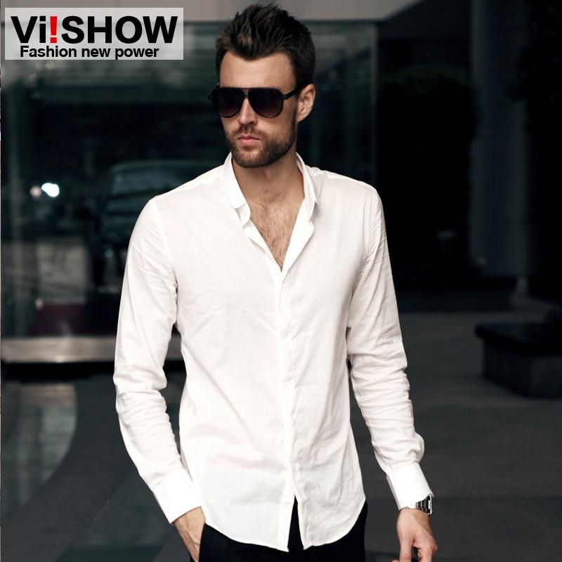 Men Casual White Shirt | Is Shirt