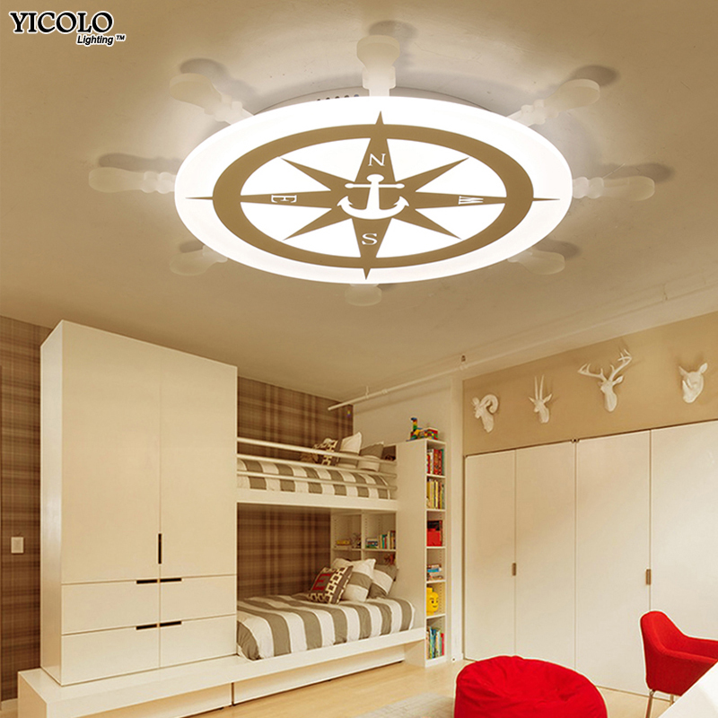 Nuovo Arrivo led plafoniere lampada con telecomando per il ragazzo ragazza camera da letto study room baby room decorazione domestica apparecchio