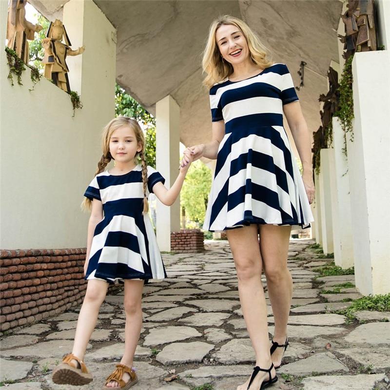 yorkzaler matching mother daughter dress summer short