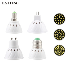 LAN MU Led Light Bulb MR16 GU10 E27 E14 Spotlight SMD5733 Energy Saving 18 24 32 110V 220V Lampada Spot Home
