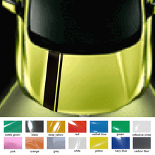 car decals hood scoop 1pc personal cool racing stripe styling graphic vinyls accessories stickerfor honda cr-v